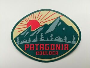 Patagonia Boulder Sticker - Extremely Rare
