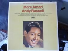 ANDY RUSSELL - MORE AMOR - VINYL -STEREO - VG+/VG+ 1967