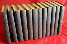 12 x Charles Dickens - Werke im Gutenberg Verlag, Fraktur Sammlung Paket