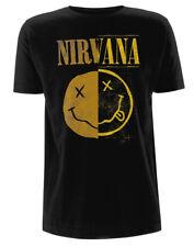 Nirvana 'Spliced Smile' T-Shirt - NEW & OFFICIAL!