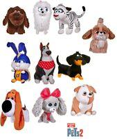 Secret Life Of Pets 2 Soft Touch Plush Kid's Favorite Animal & Pups Toys 23cm
