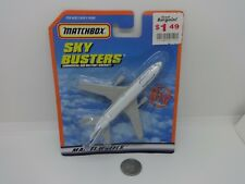 Matchbox Sky Busters #13 Continental DC-10 Commercial Jet Airliner Plane - MIP