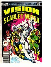 9 Marvel Comics Vision Scarlet Witch #  2 3 4 + 1 2 + Micronauts # 1 2 3 4 J266