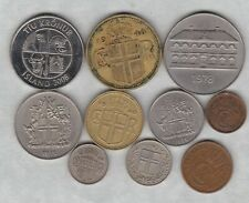 More details for ten coins from iceland 1938 to 2008 in very fine or better condition