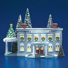 Dept 56 Snow Village ~ Snowy Hills Hospital ~ Mint In Box 54488