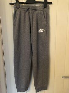 Boys Nike Grey Joggers Size L 147-158cm