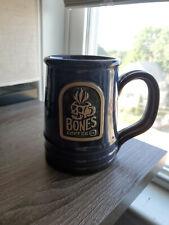 Bones Coffee Blue Logo Mug - 2019