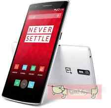 One plus OnePlus One 16GB White 4G LTE 13MP AU Warranty SEALED Smartphone