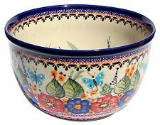 Polish Pottery Mixing Bowl 2 Qt. GU985-1/149ar from Zaklady Ceramiczne
