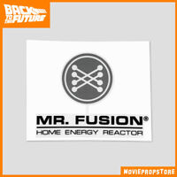 BACK TO THE FUTURE Movie Prop - Mr. Fusion sticker decal - NEW