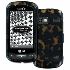 for LG Rumor Reflex LN272 Full Coverage Tortoise Shell Hard Case Cover Protector