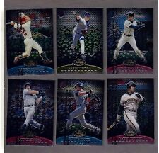 1999 FINEST COMPLETE TEAM BLUE 20 card INSERT SET with GOLD and RED variations