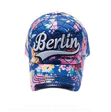 ROBIN RUTH Basecap Berlin Colors NEU Mütze Baseball-cap Blau Neon 2015 City Cap