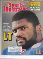 Sports Illustrated January 26 1987 LT Big Bad New York Linebacker VG/VG+