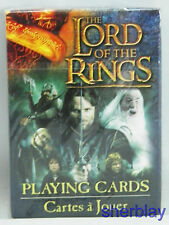 LORD OF THE RINGS Deck of  Playing Cards Sealed Box Cartamundi
