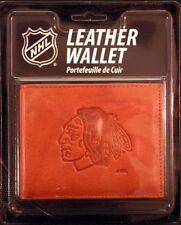 Chicago Blackhawks NHL Embossed Leather Billfold Wallet