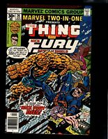 COMIC, THE THING & FURY, #26,1977, AGENT OF SHIELD, MARVEL, BAG/BOARD, C986-A
