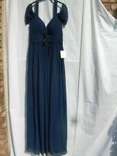 LULUS NAVY GOWN Size L Womens Long