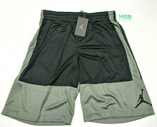 Nike Air Jordan Jumpman Basketball Shorts Mens Black Gym Training AR2833-018 NWT