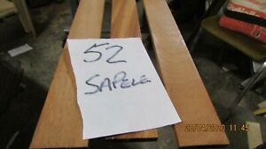 #52 SA 3PCS SAPELE RUNNERS 3050X48X8MM   P.A.R.NICETIMBER   MODEL MAKING DIY