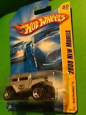 2008 Hot Wheels #20 New Models 20/40 BAD MUDDER 2 Tan/Chrome Pipes Variant wUT5s