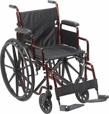 Drive Rebel Wheelchair with Quick Release Wheels  RTLREB18DDA-SF