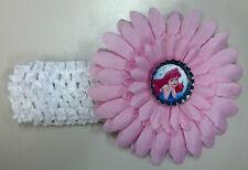 NWOT Disney Princess Flower & Headband - CHOICE of Ariel Cinderella Belle & MORE