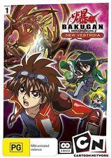 Bakugan: New Vestroia Collection 1 - Vexos Shun Ace Mira DVD NEW