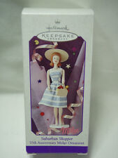 1998 Hallmark Suburbano Shopper Barbie Jején 35th Anniversary