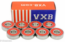 Set of 8 Ceramic Skateboard Fast Speed Ball Bearings