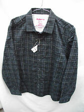 BNWT Mens Sz XLarge Rivers Brand Navy Pattern Long Sleeve Slim Fit Shirt RRP $40