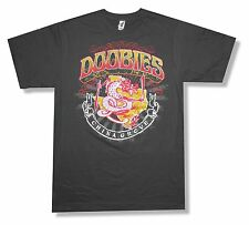 """THE DOOBIE BROTHERS """"DRAGON"""" CHARCOAL GREY T-SHIRT NEW OFFICIAL ADULT MEDIUM M"""
