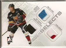 08-09 Heroes and Prospects Selects Emblem Bryan Little Silver /9
