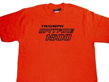 TRIUMPH Spitfire 1500 Badge T-shirt Classic Retro 100% Cotton Vintage