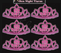 15 Miss Behave Hen Party Bride to be Night Hot Pink Mini Tiara Accessory Costume