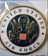 New listing Air Force Honor Badge metal with Gold Trim Li'L Davis peel stick Scrapbooking