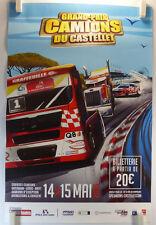 2016 GRAND-PRIX CAMION du Castellet AFFICHE ORIGINALE/17bPB