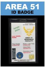 """""""AREA 51""""  ID Badge ... """"Limited Time save $3.00"""""""