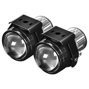 2X 2.5inch Fog Light Lamp Projector Lens Bi-Xenon For H11 H8 H9 HID LED Retrofit