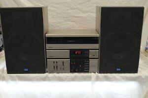 Vinage Retro Pioneer Micro Hi-Fi System Amplifier (A-X7),Turntable(PL-X7), Plus