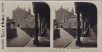 Verona San Bernardino Italia Foto Stereo Vintage Analogica
