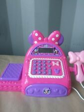 Minnie Mouse Bowtique Cash Register TESTED AND WORKS!