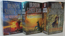 The Stormlight Archive Novels by Brandon Sanderson (Books 1-3 in the Series) NEW