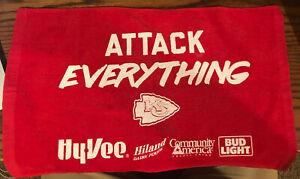 Kansas City Chiefs Kingdom SGA Rally Towel Attack Everything - Eric Berry!