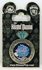 Disney The Haunted Mansion Bride & Doom Constance Wedding Ring 3-D Pin Brand New