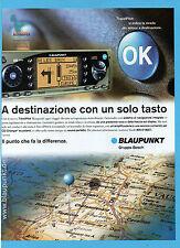 BELLEU999-PUBBLICITA'/ADVERTISING-1999- BLAUPUNKT TRAVELPILOT