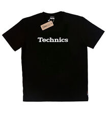 Technics T-Shirt BLACK  - Turntable audio 1200 1210 ( size S, M, L, XL, XXL )