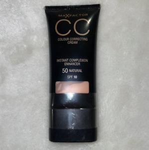 Max Factor CC Color Correcting Cream Instant Complexion Enhancer 50 Natural