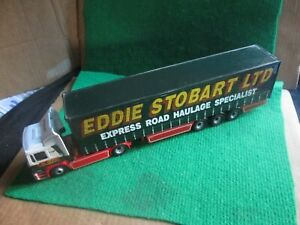 CORGI EDDIE STOBART MAN TRUCK & TRAILER (1:50 SCALE) LOT B91