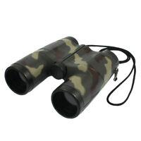 Compact Lightweight Binocular Telescope Portable Plastic Binoculars for Children